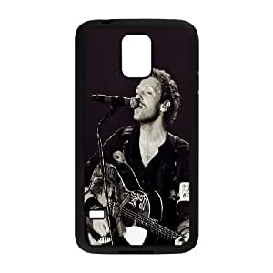 Coldpaly Chris Martin Samsung Galaxy S5 Cell Phone Case Black phone component RT_242194