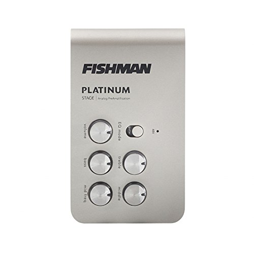 Fishman Platinum Stage EQ/DI Analog Preamp (Preamp Bass Upright)