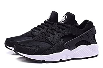 half off 13faa f089f (634835-006) Men s women s Nike Air Huarache Run Black white (
