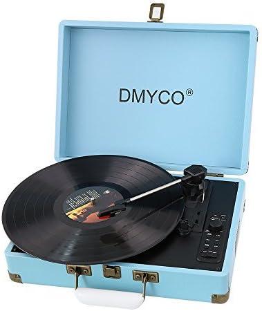 Tocadiscos Vintage,DMYCO Tocadiscos Estéreo, Tocadiscos Vinilo, 3 ...