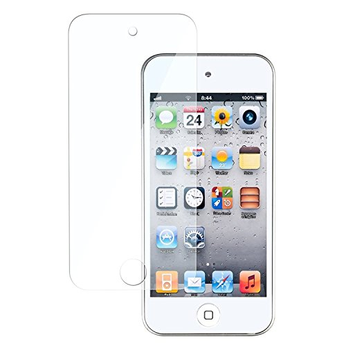 Theo&Cleo Reusable Screen LCD Protector Cover Film Guard For iPod touch 5 G 5th/6th Gen (Screen Lcd Ipod Touch 5g)