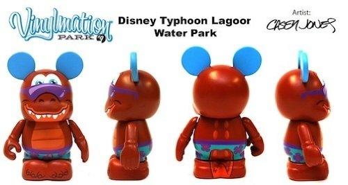 Park Series 9 Typhoon Lagoon Gator Disney Vinylmation 3 inch Figure LOOK (Lagoon Water Park)