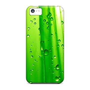 Iphone 5c Hard Back With Bumper Silicone Gel Tpu Case Cover Green