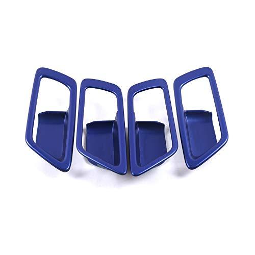 HIGH FLYING ABS Blue Inner Side Door Handle Bowl Cap Cover Trim 4pcs For CHR C-HR 2016-2018 YUZHONGTIAN Auto Trims Co. Ltd