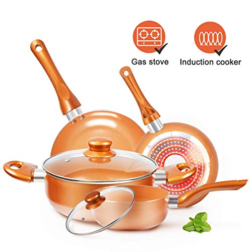 Cookware-Set Nonstick Pots and
