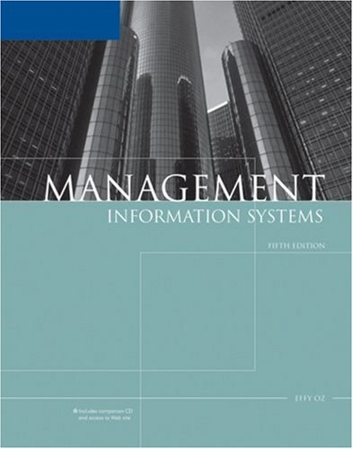Management Information Systems (Available Titles Skills Assessment Manager (SAM) - Office 2010)