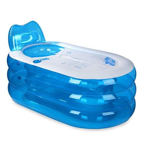 BAIF Adult inflatable tub Thick portable tub for adults, foldable tub, plastic tub 130cm  70cm  70cm Inflatable tub and inflatable dive tub