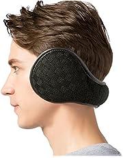 JOEYOUNG Foldable Ear Warmers Winter Earmuffs for Men Women, Ear Cover Skiing