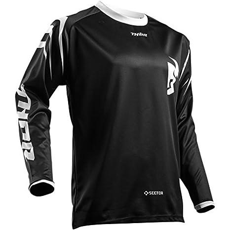 Thor Sector Zones Motocross Jersey Shirt maglia Offroad Enduro Cross nero S M L XL 2 X L 3 X L