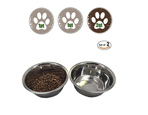 Stainless Dog 2 Quart Without Sticker product image