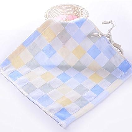 Bonytain - Paños de muselina cuadrados para bebé recién nacido, doble gasa, algodón,
