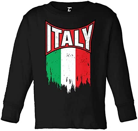 Italy Torn Flag - Italian Strong Pride Infant/Toddler Cotton Jersey T-Shirt