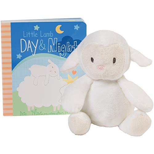 (C.R. Gibson Little Lamb Day and Night Storytime Baby Book Gift Set)