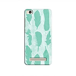 Cover it up - Blue Feather Print Redmi 4A Hard Case