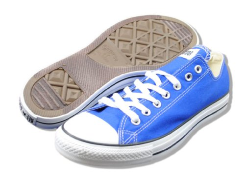 Converse All-star Chuck Taylor Lo-top Sneakers (12 M Us Mens, Blu)