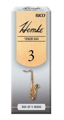 Hemke Tenor Sax Reeds, Strength 3.0, 5-pack