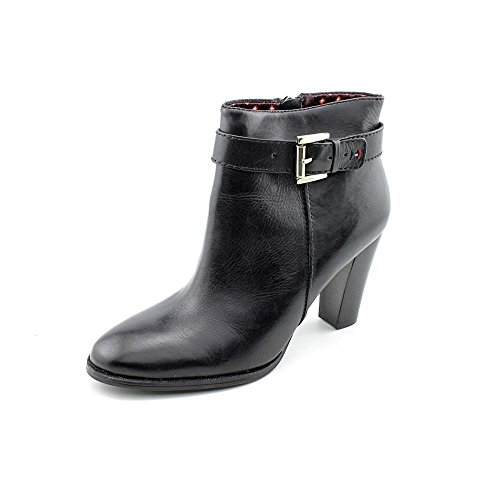 Tommy Hilfiger Vales Womens Size 10 Black Fashion Ankle Boots