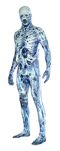 Morphsuits Men's Arachnamania Monsters Fancy Dress Costume-Size Xxlarge-186 to 210cm, Arachnomania, XX-Large -