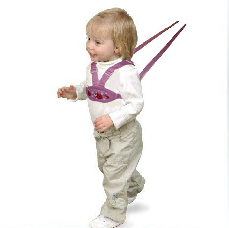 Maxtto Toddler Safety Harness and Reins (Pink, Little Explorer Ladybird) HPLDY01