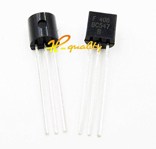 100PCS 45V 0.1A BC547 Transistor BC547B TO-92 NPN