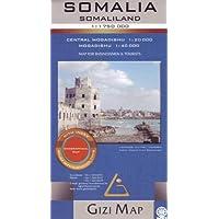 Somalia / Somaliland Geographic Map 2017