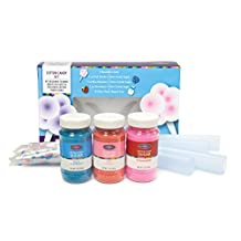 Nostalgia Electrics FCK800 Flossing Sugar Cotton Candy Kit 21 oz.