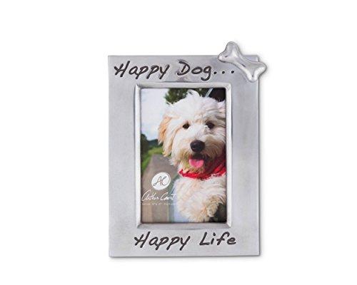 Arthur Court Happy Dog Happy Life' Bone Embellished 4