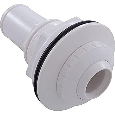 """Waterway Above-Ground Pool Vinyl Liner Deluxe Return Fitting Assembly 1"""" Eyeball White 550-9340 : Bathtub And Showerhead Faucet Systems : Garden & Outdoor"""