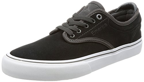 Emerica Grey Men's White Skate Shoe Dark G6 Wino zzRqxYr