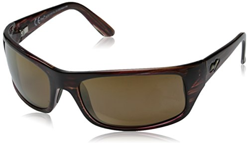 Maui Jim Peahi Sunglasses,Burgundy Tortoise Frame/HCL Bronze Lens,one - Sunglasses Peahi Maui Jim Polarized