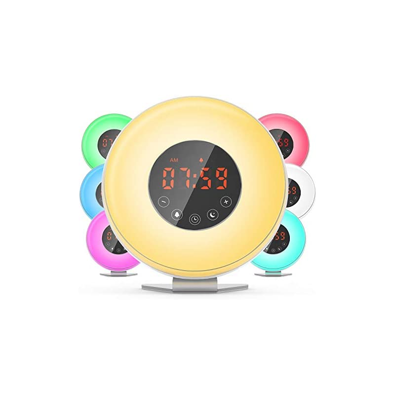 Dr.Meter Sunrise Alarm Clock - Digital L