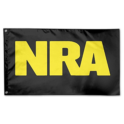 NRA National Rifle Association 100% Polyester Fabric Flag 3x5