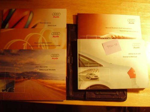 2002 Audi A6 A 6 Owners Manual