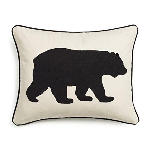Eddie Bauer 216606 Black Bear Twill Decorative (Black Bear Throw)