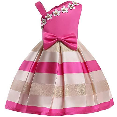 Baby Girl Embroidery Silk Princess Dress for Wedding Party Kids Dresses,Rose - Regency Drawer 6 Dresser