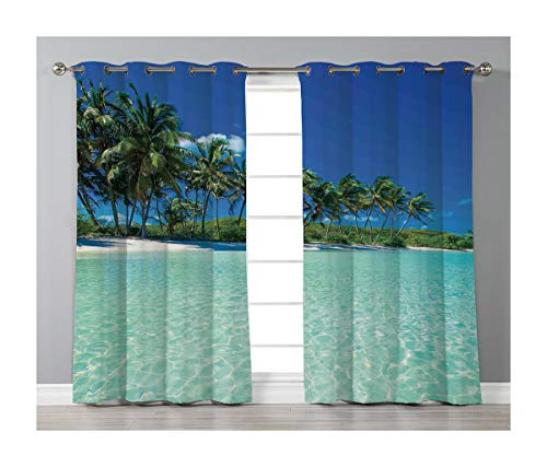 Goods247 Blackout Curtains,Grommets Panels Printed Curtains