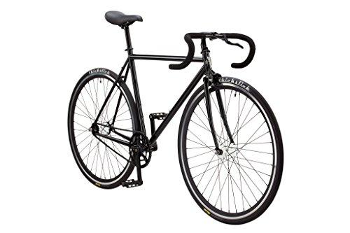 Pure Fix Premium Fixed Gear Single Speed Bicycle, 54cm/Medium, Kennedy Gloss Black
