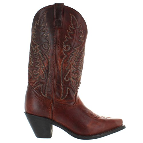"Laredo Women's 11"" Western Boots Cowboy Madison Brown Bur..."
