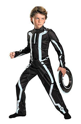 Kids-costume Tron Legacy Deluxe Child 7-8 Halloween Costume - Child 7-8]()