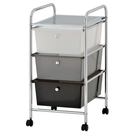 Drawer Rolling Organizer Storage Cart, Multi ()