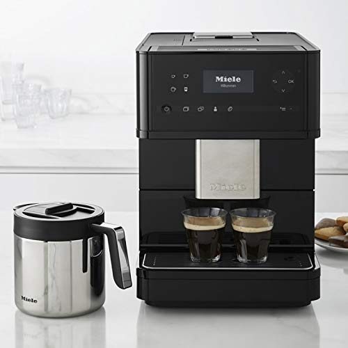 Miele CM6150 Countertop Coffee Machine, Medium, Obsidian Black