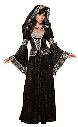 Forum Novelties 79011 Dark Sorceress Costume, UK Size (10-14)/One -