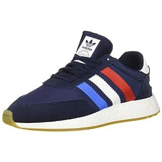 adidas Originals Men's I-5923 Shoe, Collegiate Navy/Active red/True Blue, 5 M US