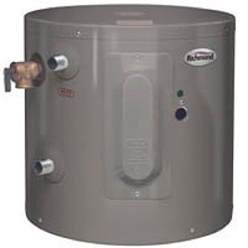 Amazon.com: New Richmond Rheem 6ep6-1 6 Gallon 2000 Watt Electric Hot Water Heater 7906456