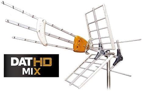 Antena TDT -UHF/VHF DAT HD Mixta con MRD (Caja): Amazon.es ...