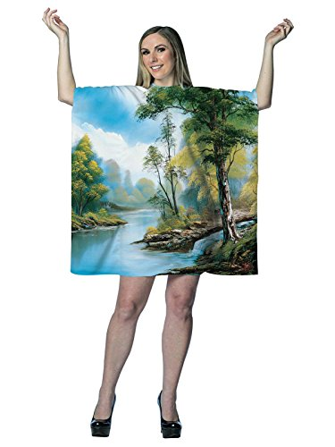 Morris Costumes Bob Ross Painting Dress -