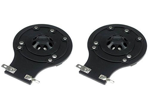 1 Replacement Diaphragm (SS Audio 2 Plastic JBL Speaker Replacement Horn Diaphragm 2 Pack 2412H, 2412H-1, Soundfactor, MP215, MP225, EON15, EON10, JRX, TR, and many others)