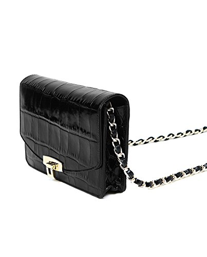 Uterque Compact Bag 706 Mock Croc Women's Crossbody 1417 PqnraPTw