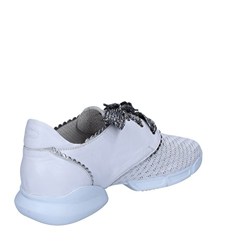 6 Leather Woman UK 39 EU White Sneakers GUARDIANI ESqHa