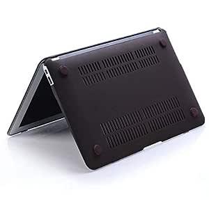 Rubberized Matte Case Cover Shell For Macbook Apple Pro 13 13.3 Black